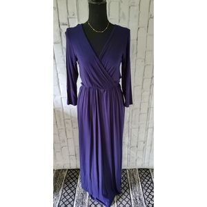 Annabelle Navy Blue Maxi Dress size small